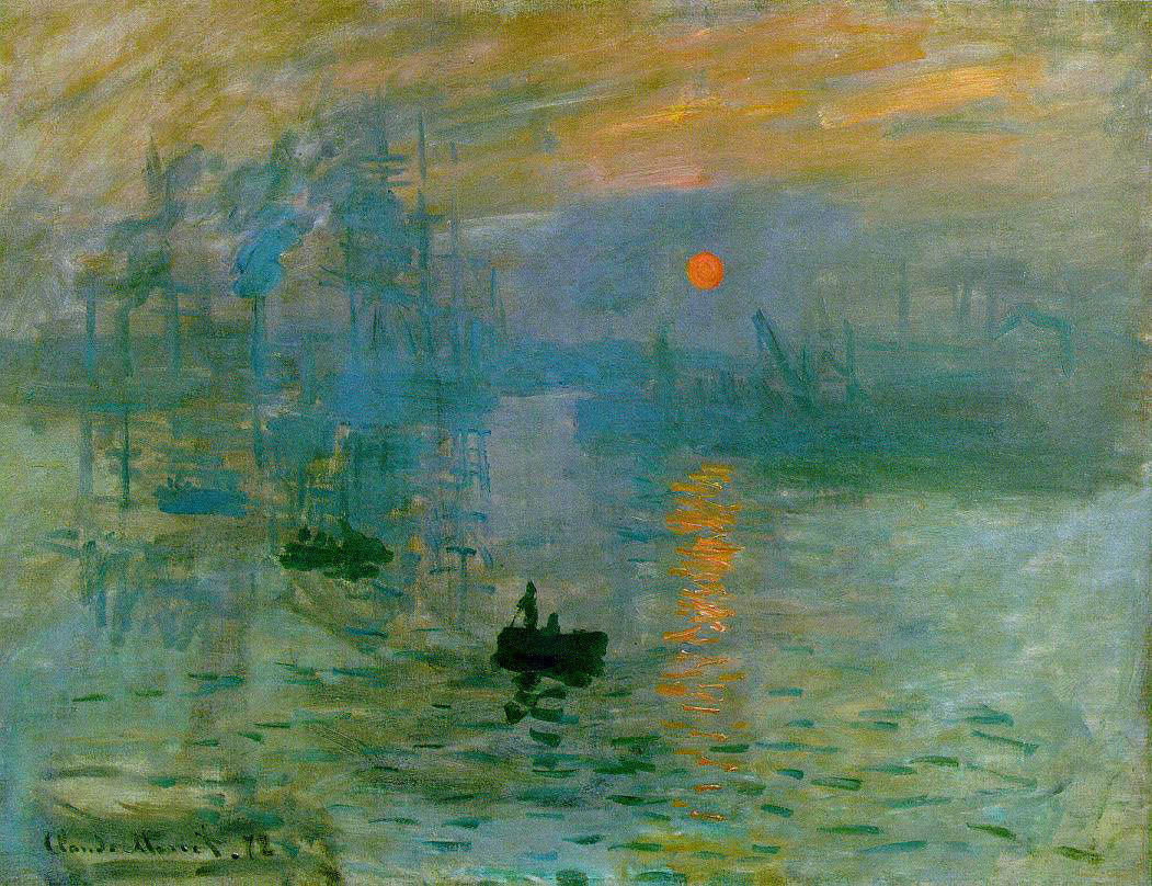 Impression, Sunrise (Impression, soleil levant) by Claude Monet