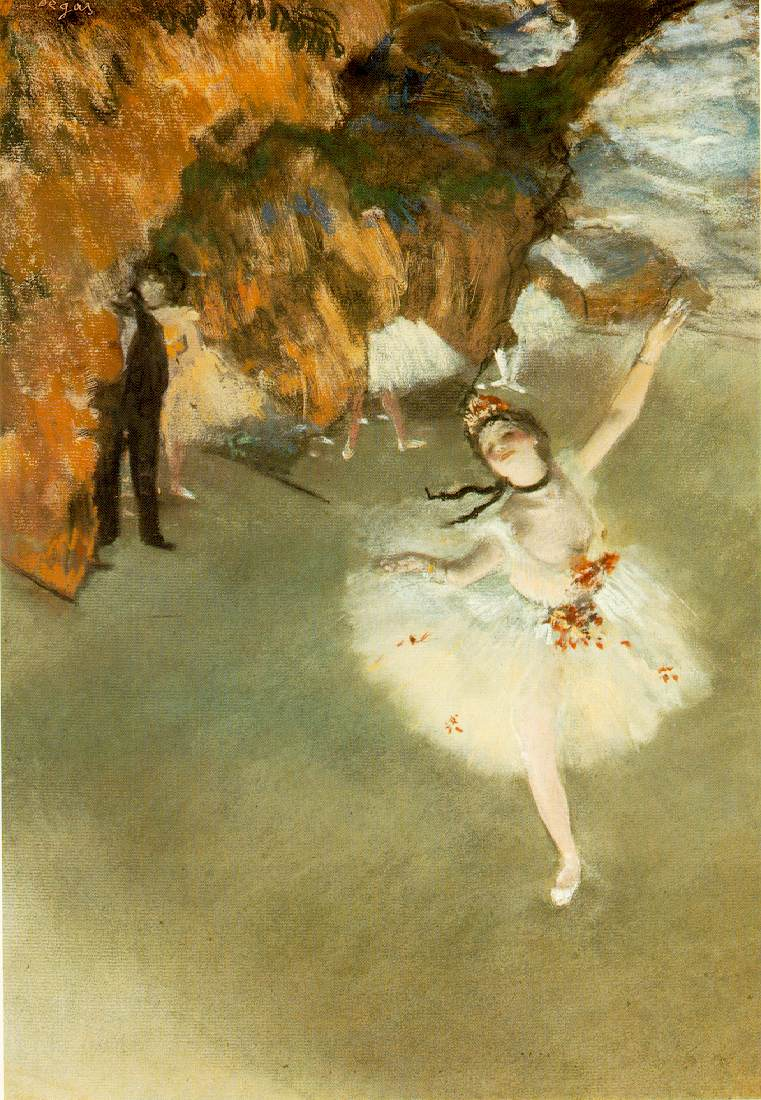 The Star (L'Etoile) by Degas