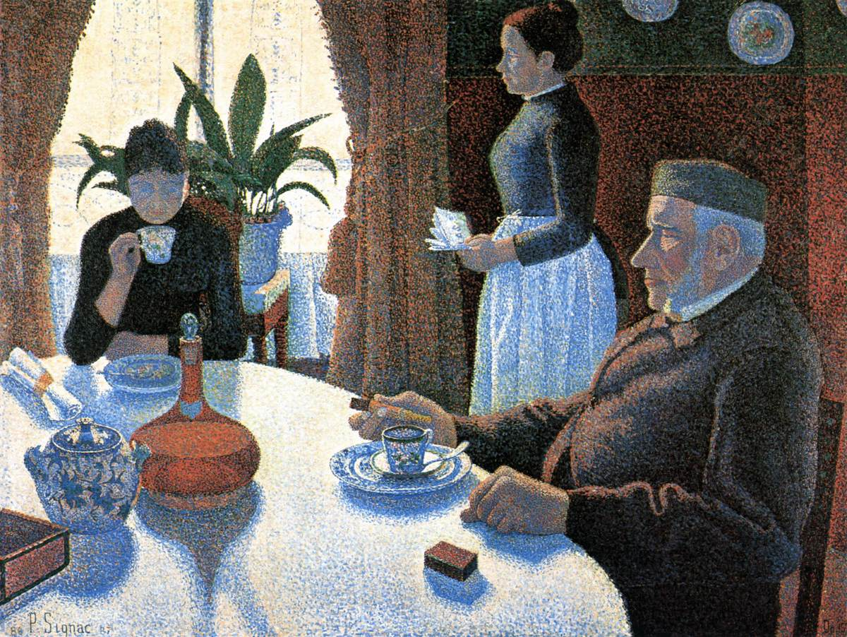 Breakfast by Paul Signac