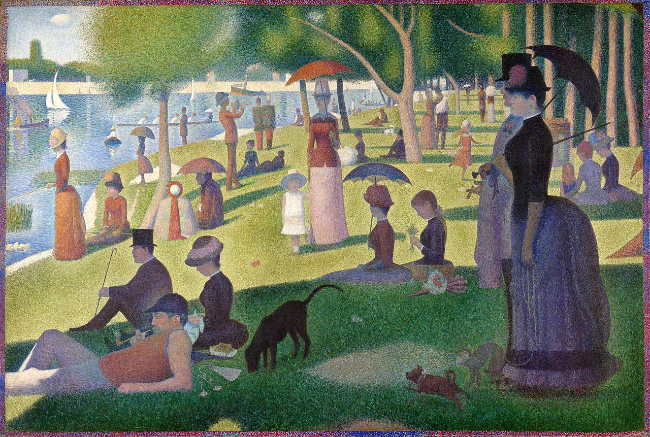 A Sunday Afternoon on the Island of the Grand Jatte by Georges Seurat