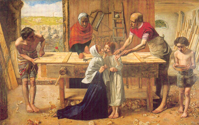 Christ in the House of His Parents, by John Everett Millais