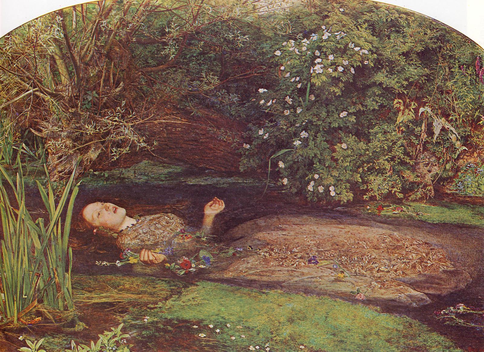 Ophelia, by Sir John Everett Millais