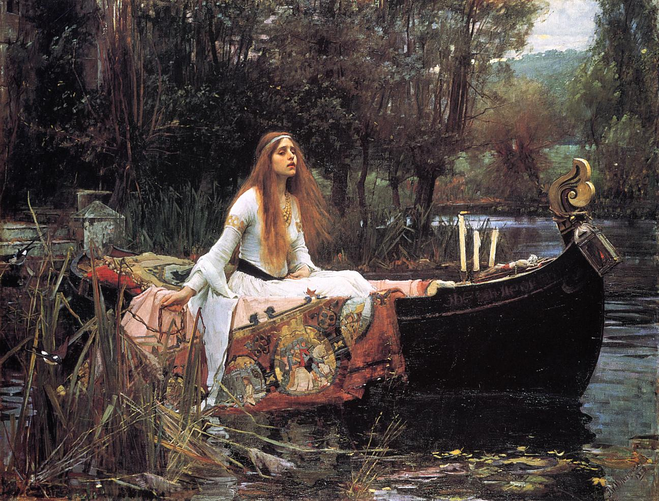 The Lady of Shalott, by John William Waterhouse
