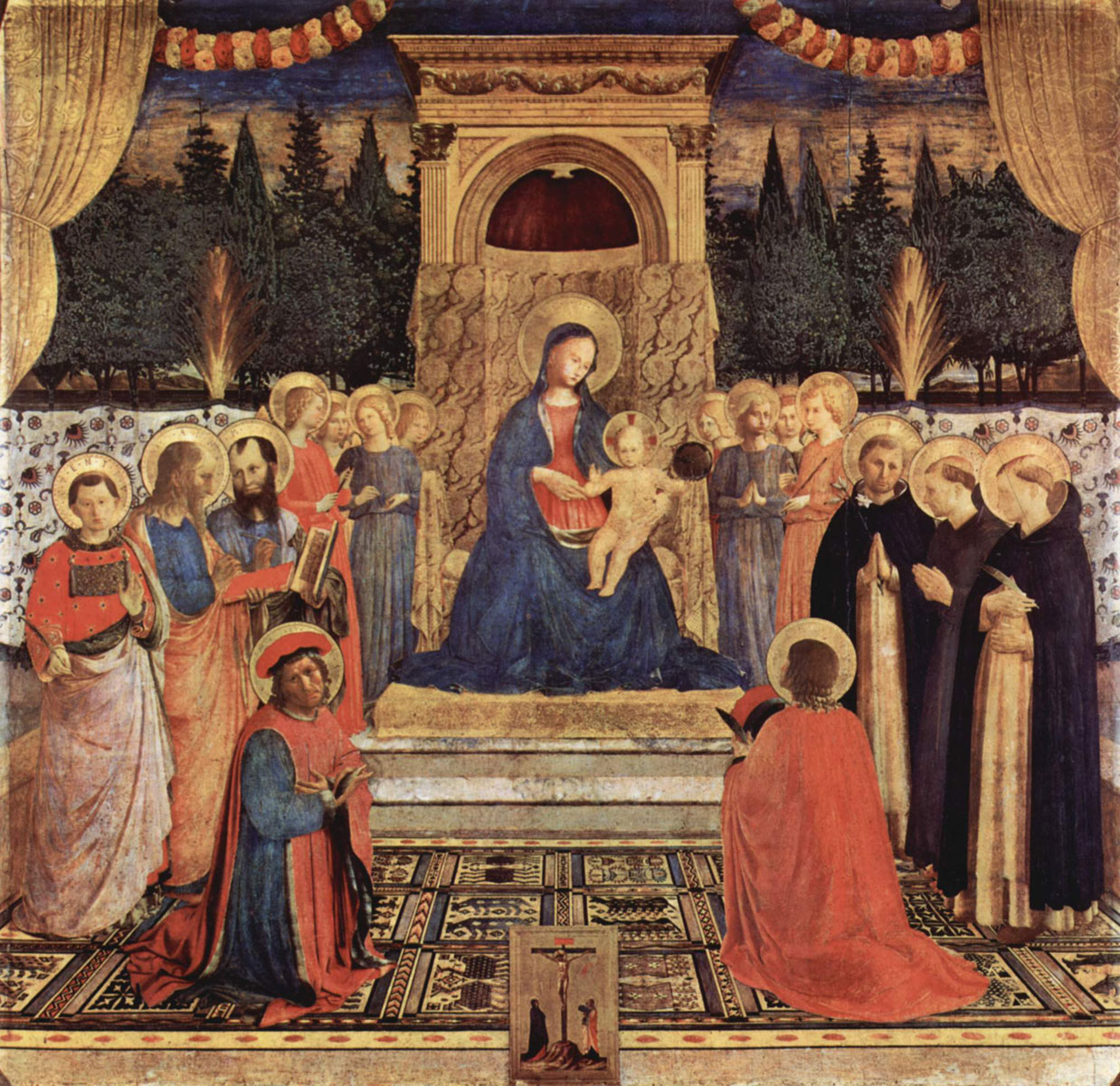 San Marco Altarpiece by Fra Angelico