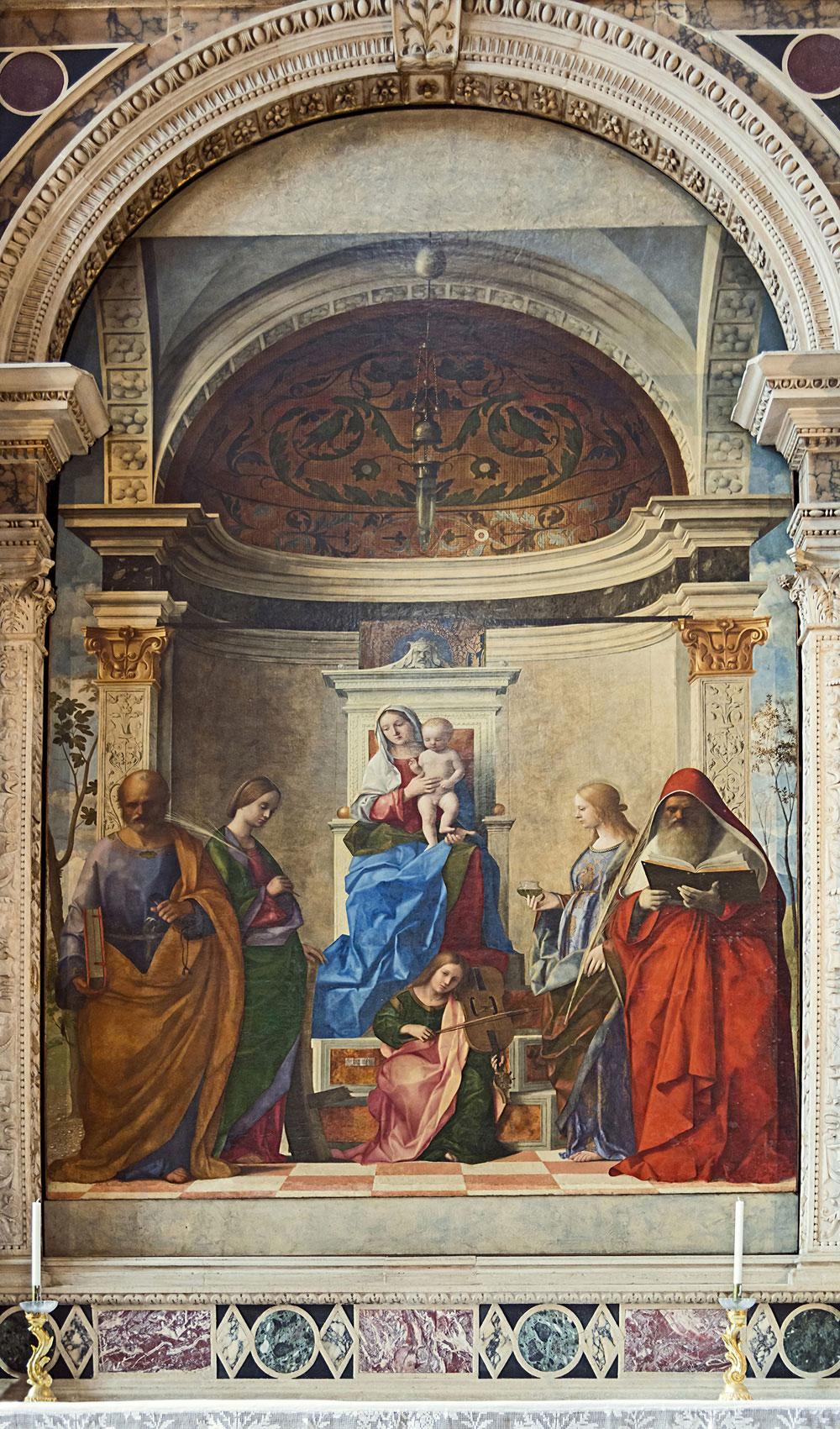 San Zaccaria Altarpiece by Giovanni Bellini