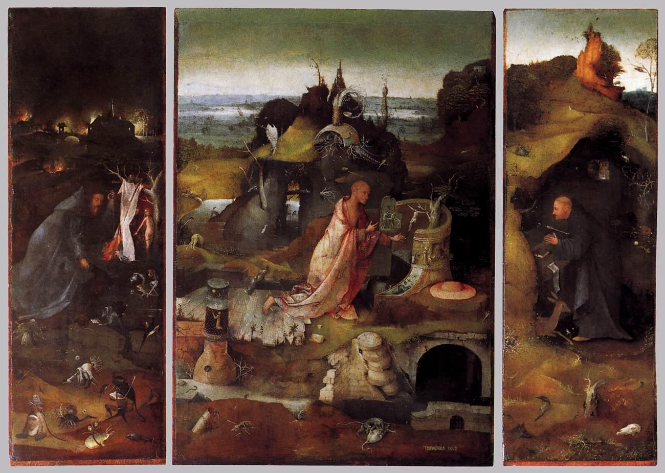 The Hermit Saints by Hieronymus Bosch