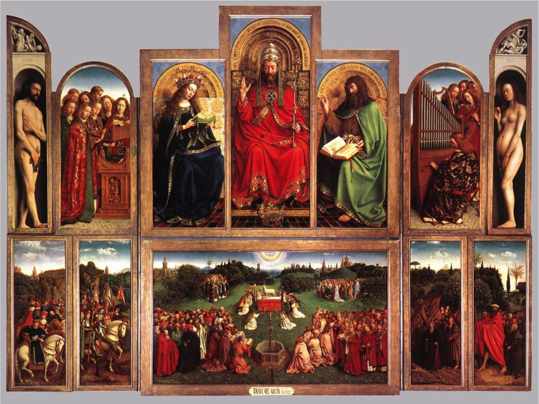 Ghent Altarpiece by Jan and Hubert van Eyck