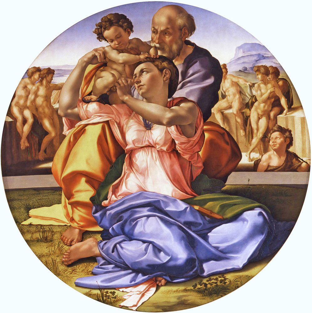 Doni Tondo (The Holy Family) by Michelangelo
