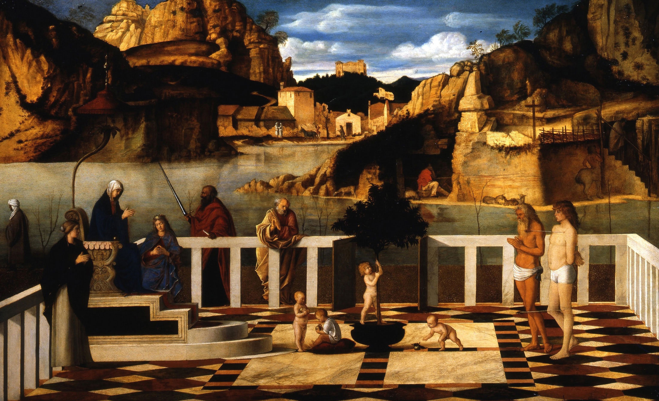 Holy Allegory by Giovanni Bellini