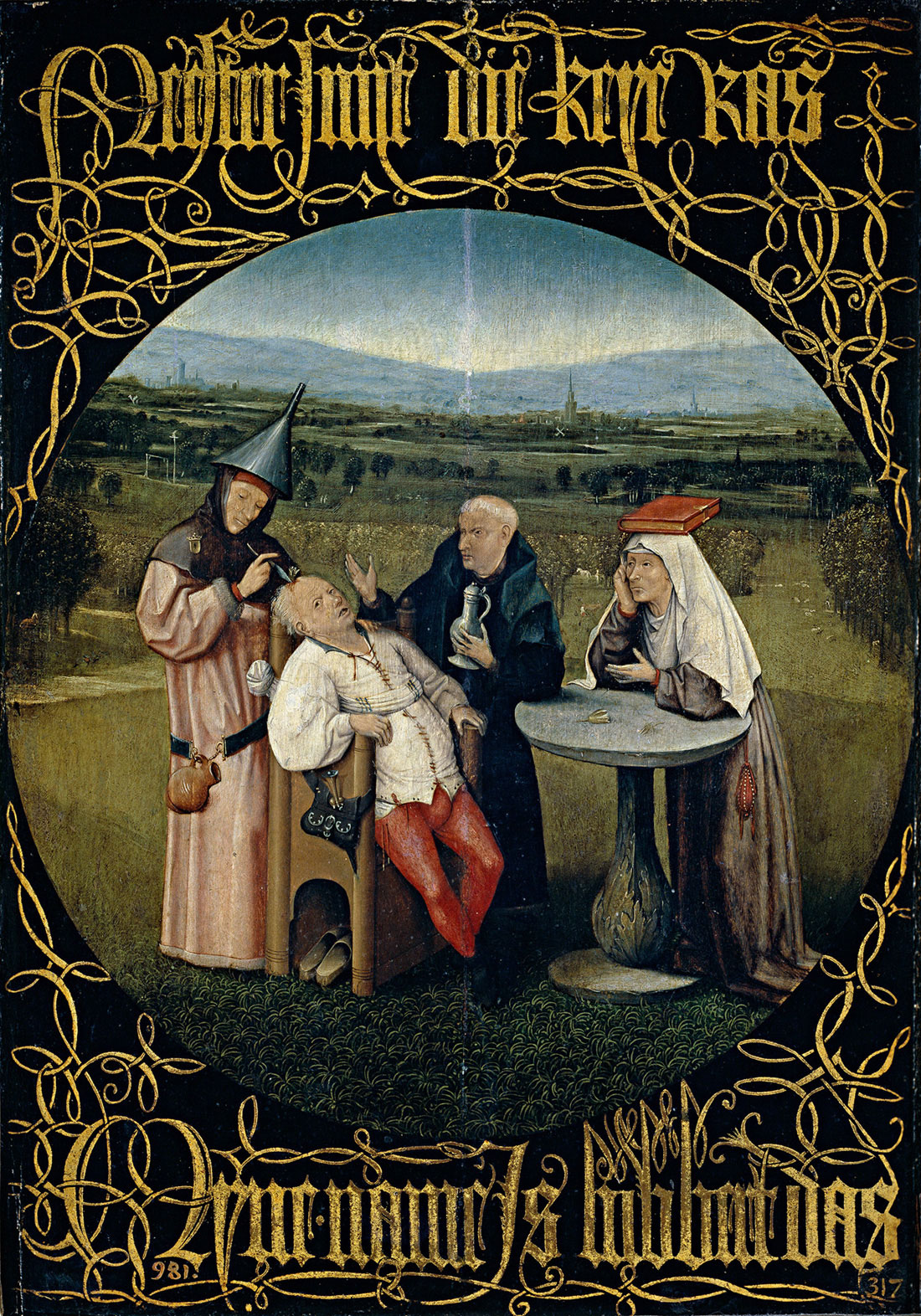 Cutting the Stone by Hieronymus Bosch