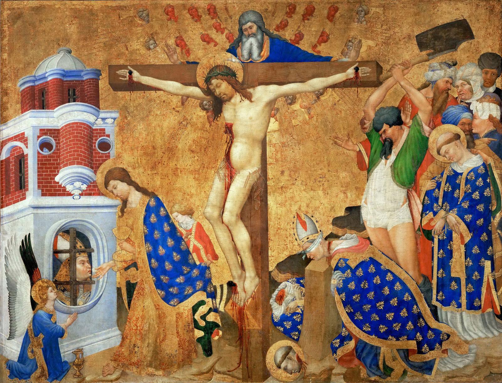 Altarpiece: Martyrdom of St. Denis by Henri Bellechose