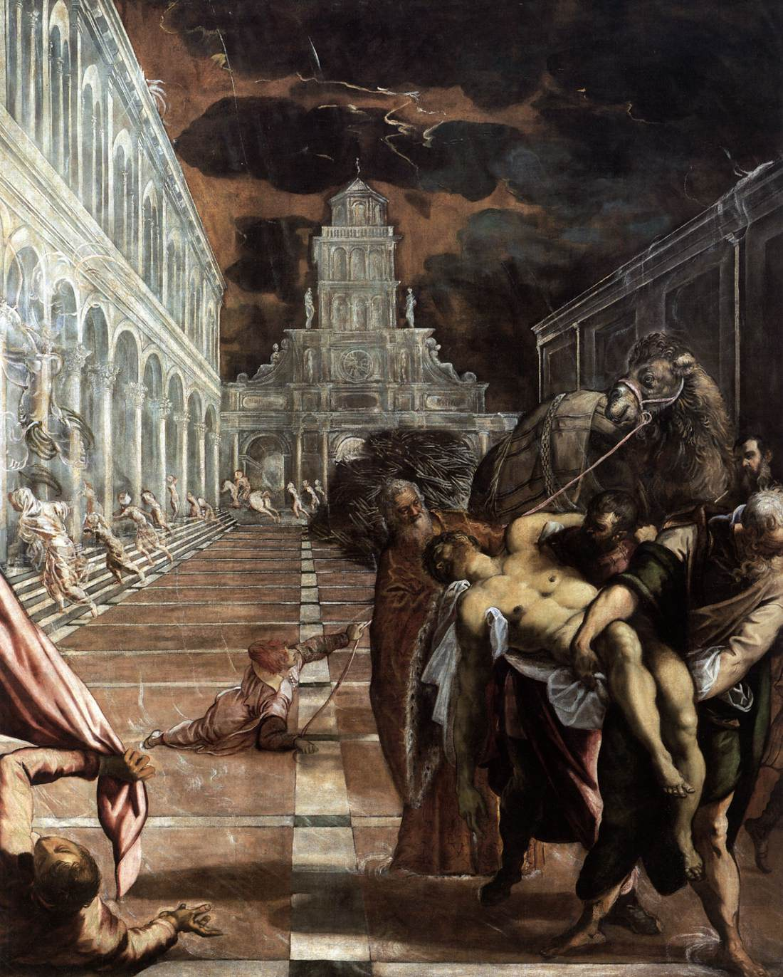 The Stealing of the Dead Body of St. Mark by Tintoretto