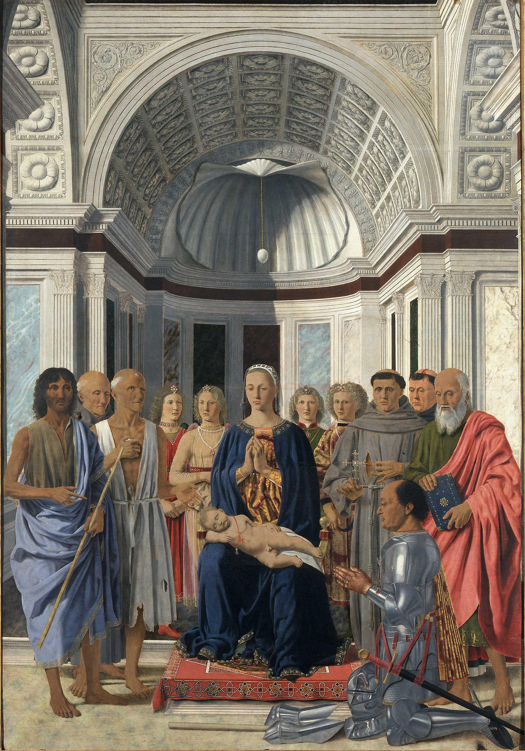 Brera Madonna by Piero della Francesca
