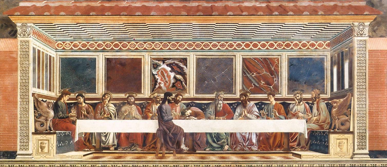 The Last Supper by Andrea del Castagno