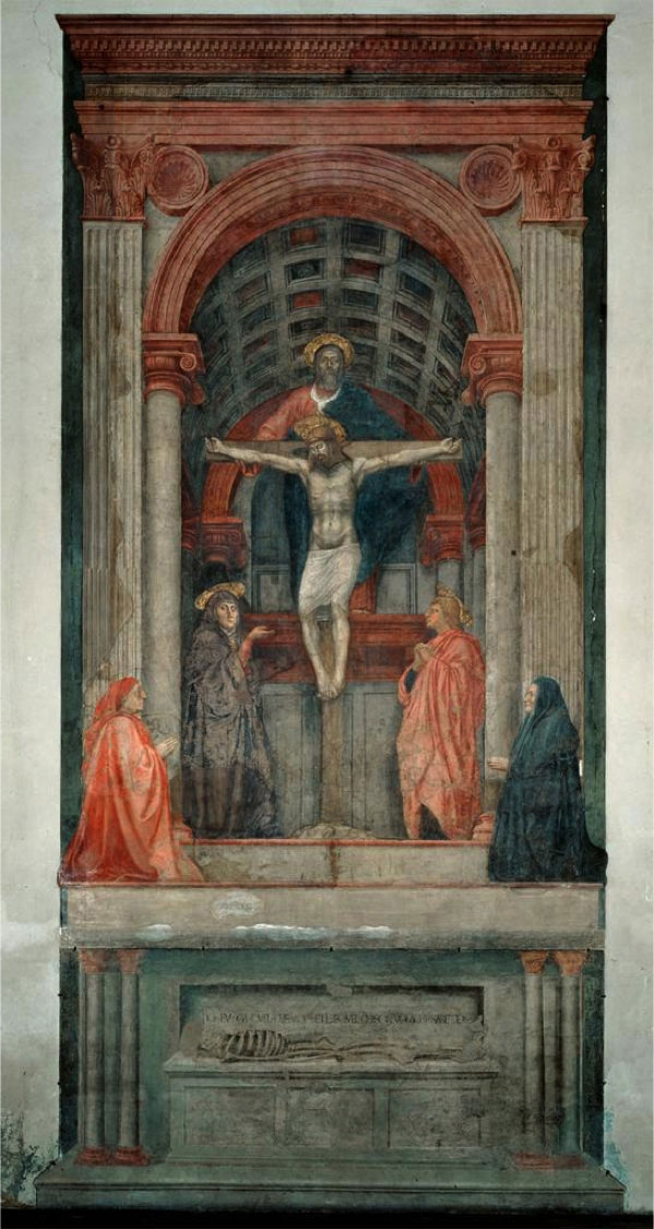 Holy Trinity by Masaccio