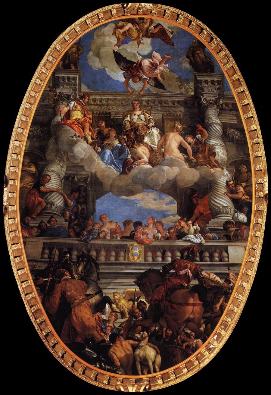 The Apotheosis of Venice by Paolo Veronese