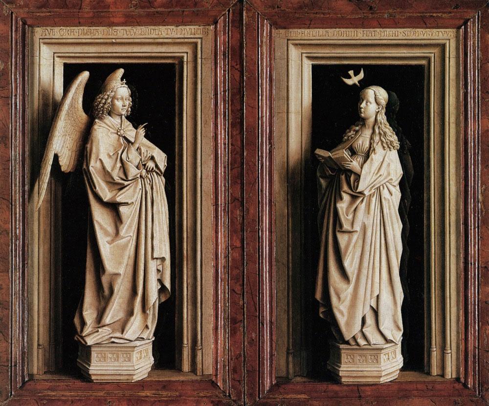 The Annunciation by Jan van Eyck