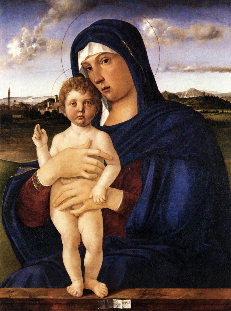Contarini Madonna by Giovanni Bellini