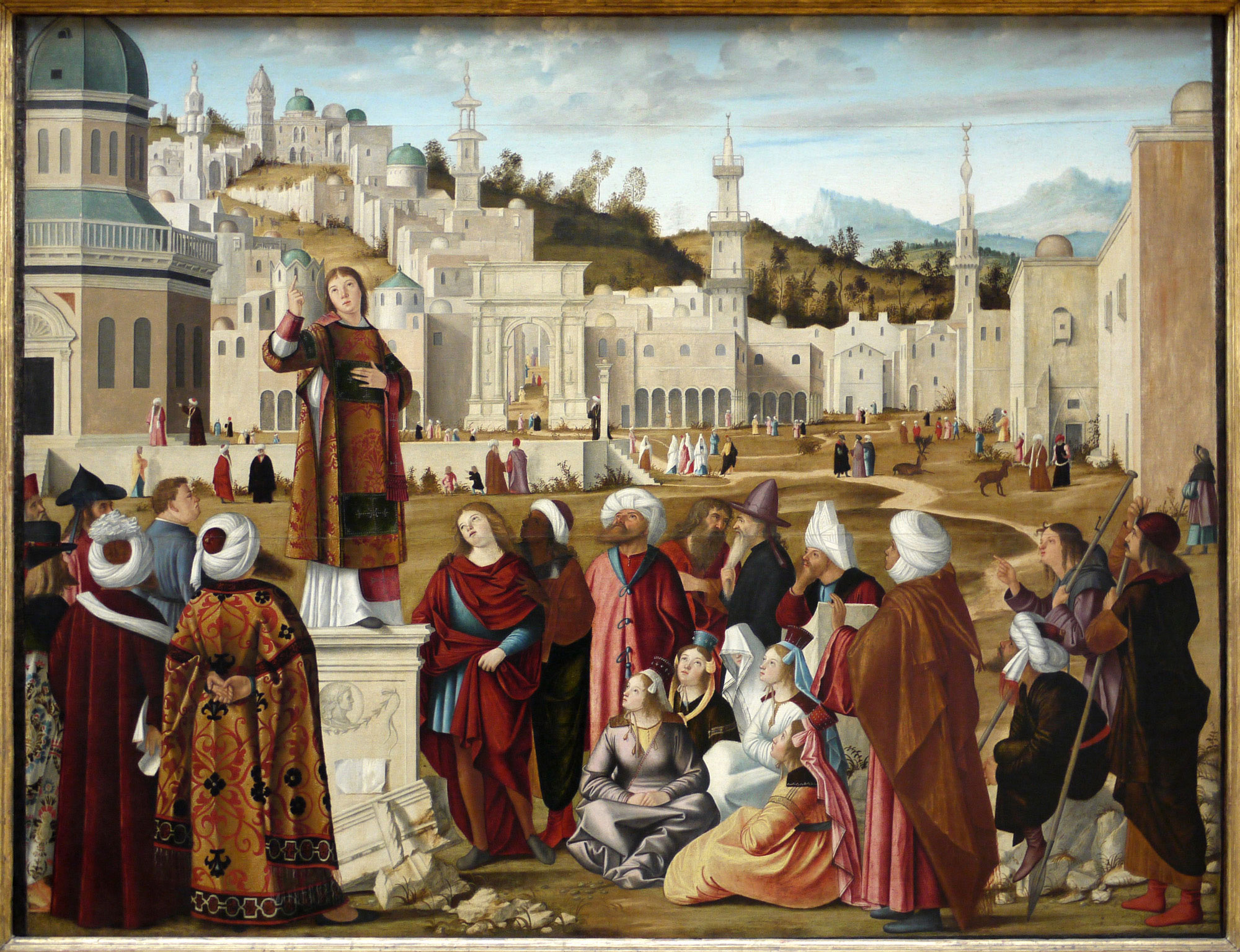 The Sermon of St. Stephen at Jerusalem by Carpaccio