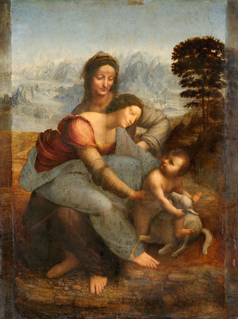 The Virgin and Child with St. Anne by Leonardo da Vinci