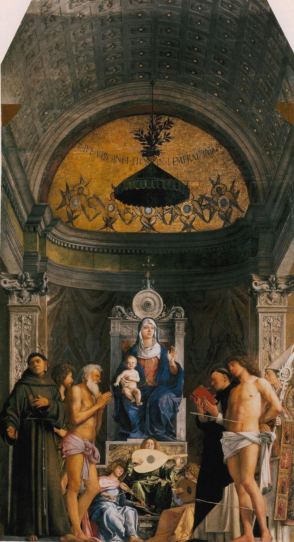 San Giobbe Altarpiece by Giovanni Bellini