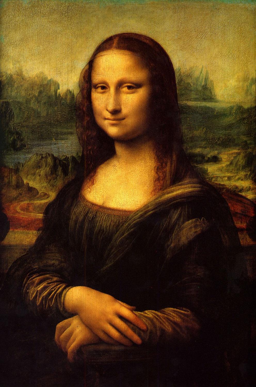 Mona Lisa, aka La Gioconda, by Leonardo da Vinci