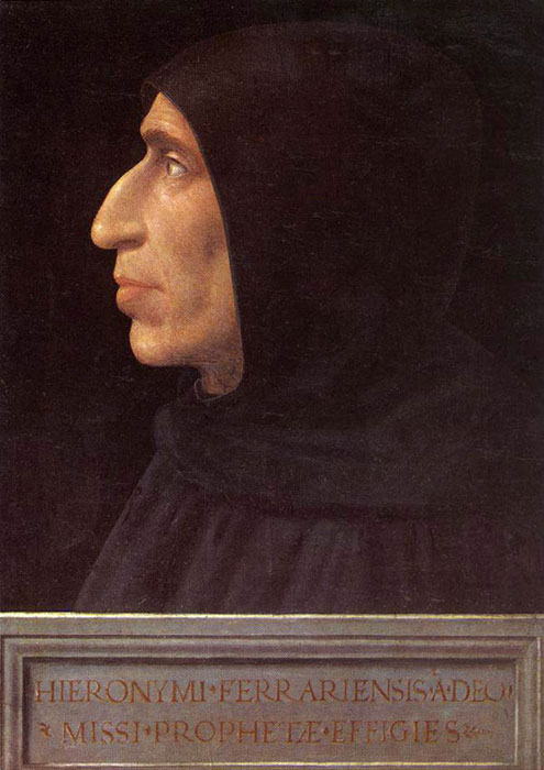 Portrait of Girolamo Savonarola by Fra Bartolomeo