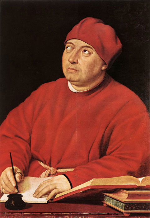 Portrait of Tommaso Inghirami by Raphael