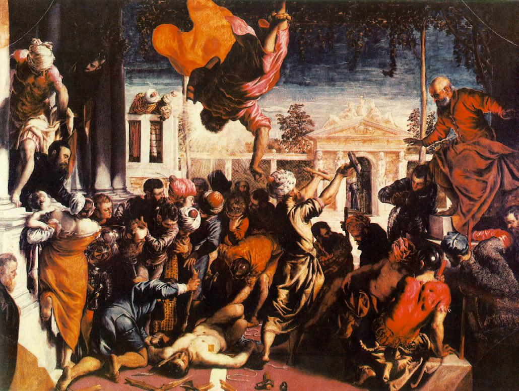 The Miracle of the Slave by Tintoretto