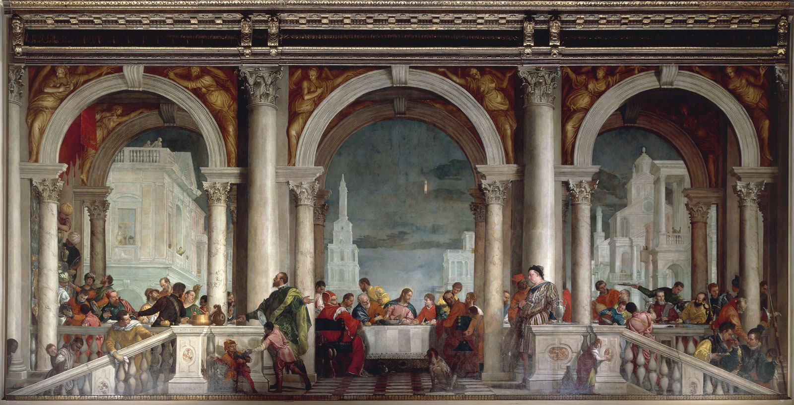 The Feast in the House of Levi by Paolo Veronese