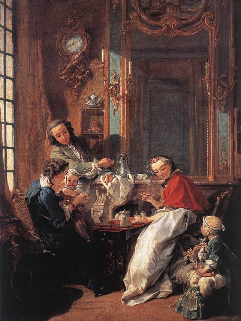 Le Dejeuner, or The Breakfast, by Francois Boucher
