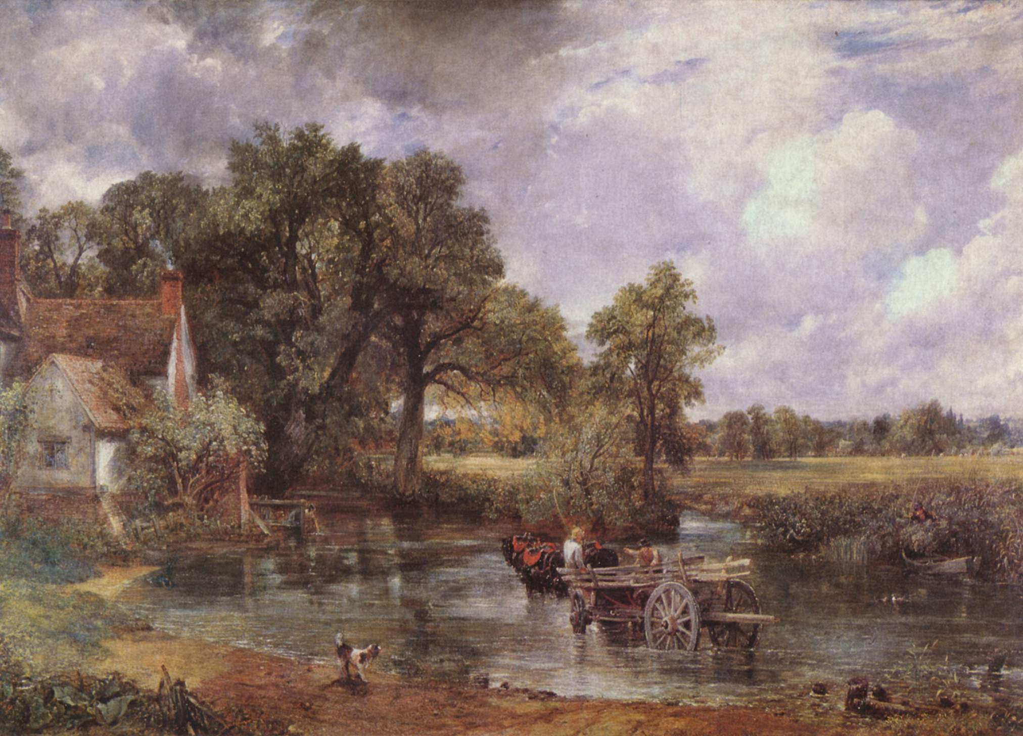 Der Heuwagen by John Constable