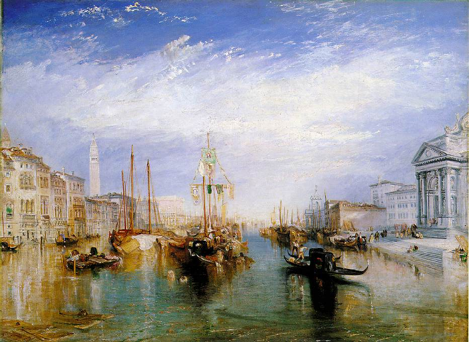 Venice Grand Canal by Joseph Mallord William Turner