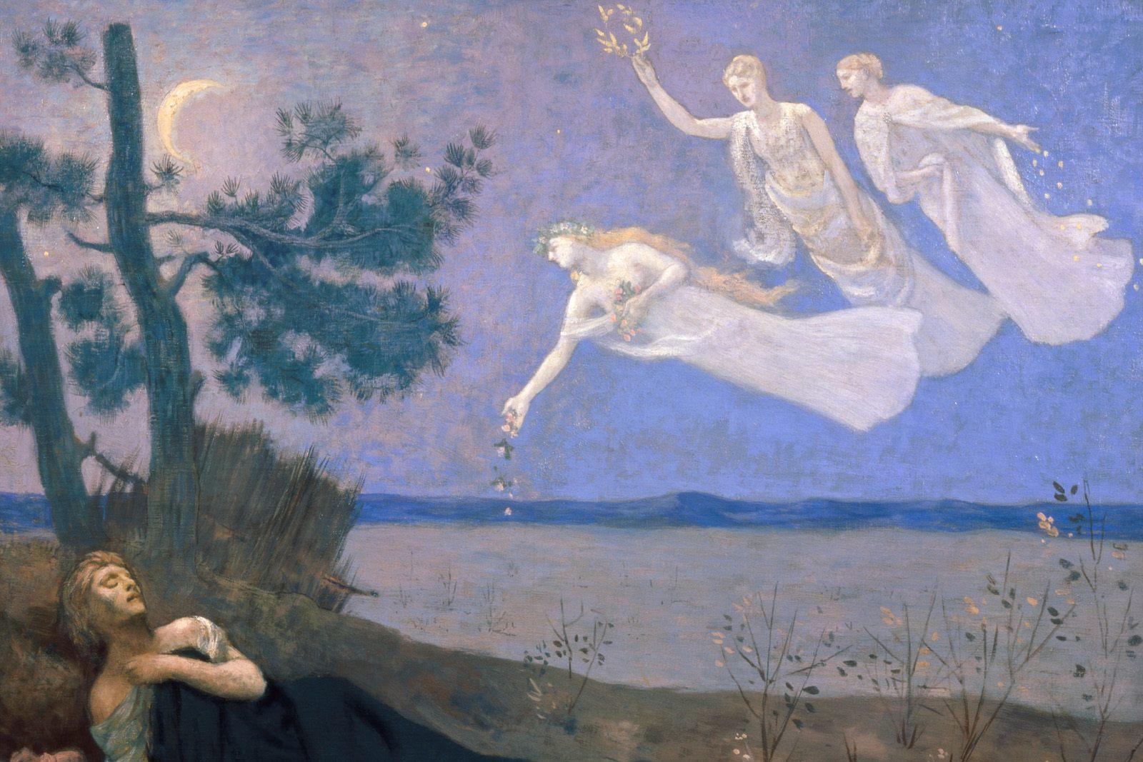 Pierre Puvis de Chavannes - The Dream