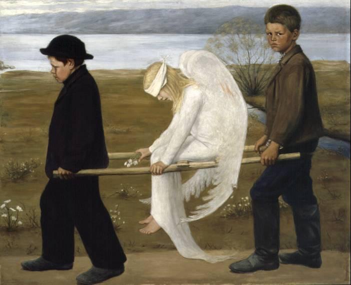 Hugo Simberg - The Wounded Angel