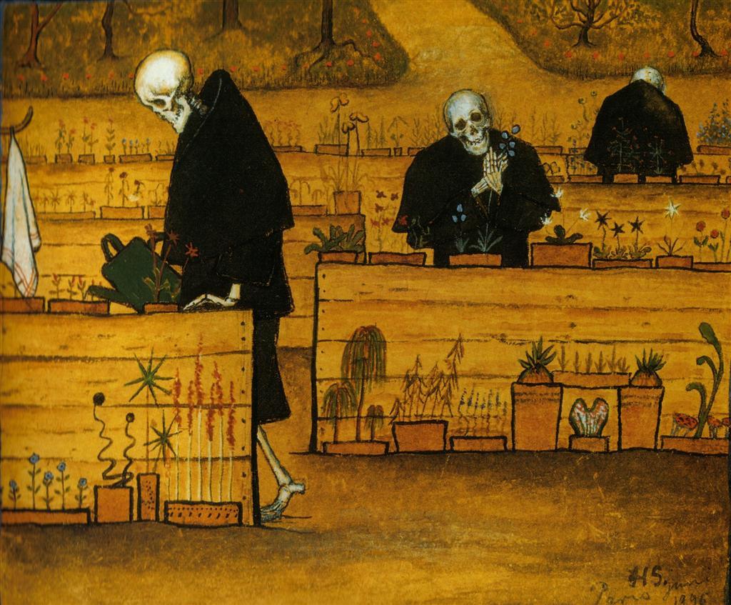 Hugo Simberg - The Garden of Death