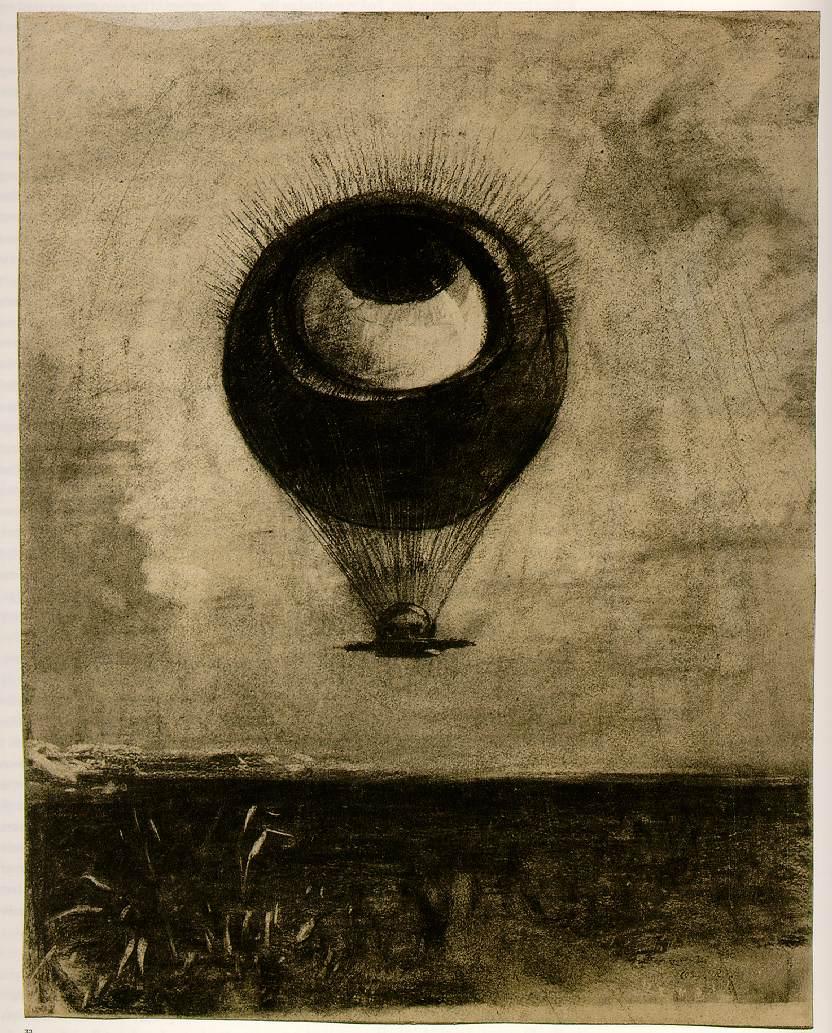 Odilon Redon - Eye Balloon